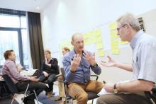 Bild aus einem Seminar von der Marketing Akademie